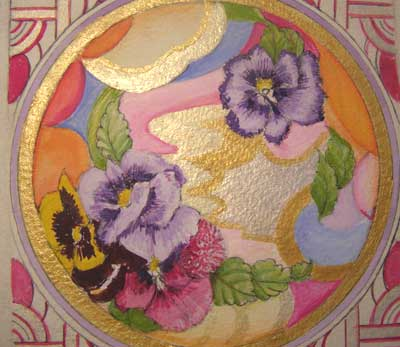 Design for Art Deco Plate